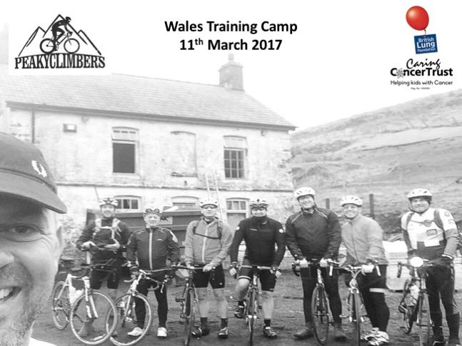 Peaky Climbers Wales Training Camp