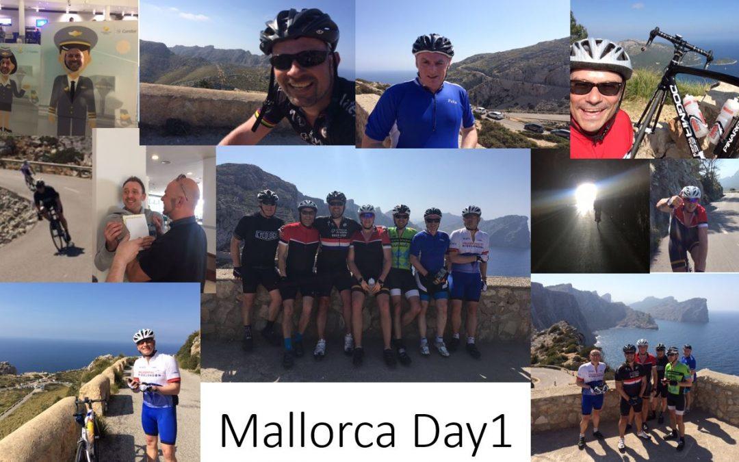 Day 1 – Mallorca Training Camp