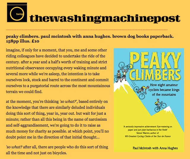 """peaky climbers is quite brilliant"""
