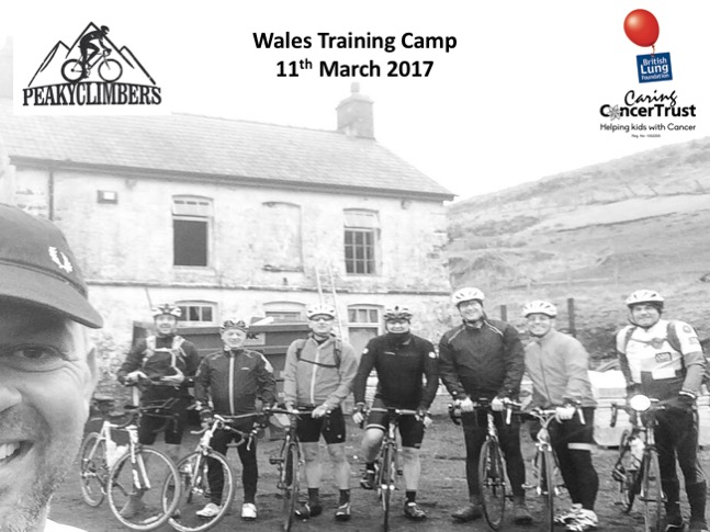 Peaky Climbers Wales Training Camp