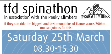7 Hour Spinathon a Big Peaky Challenge
