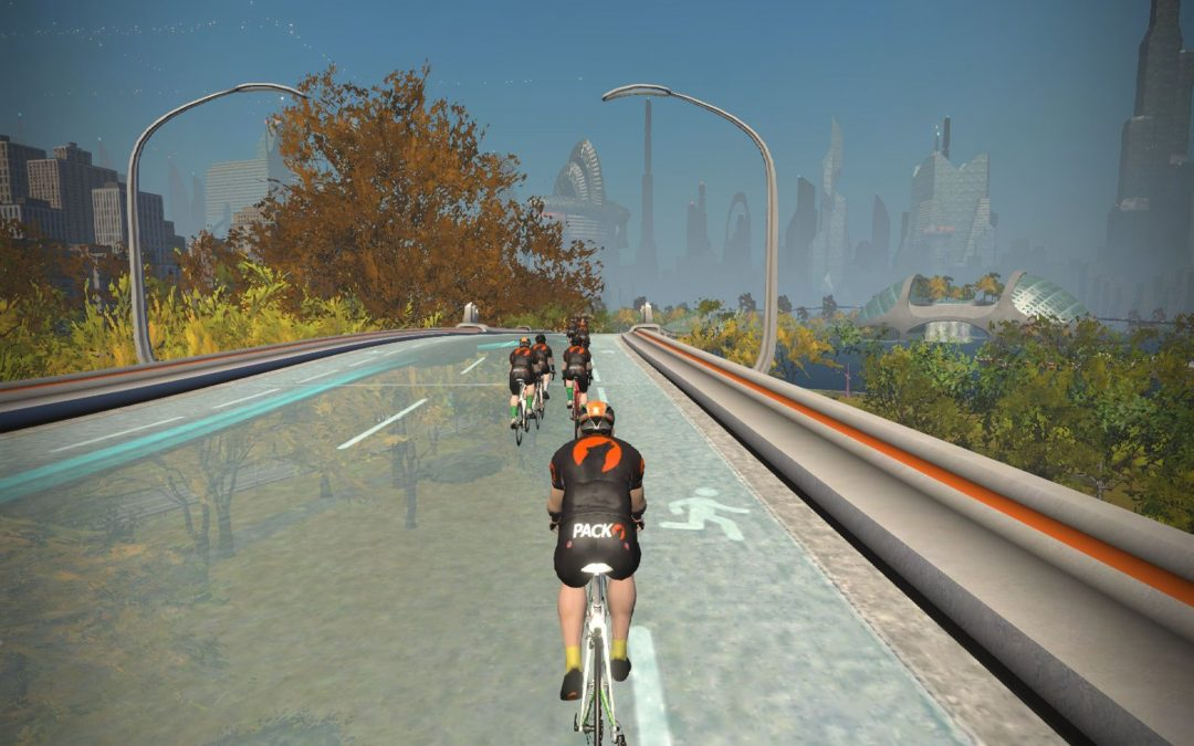 Trying Zwift Through Winter…